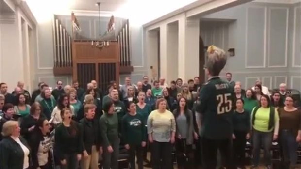 Mendelssohn Club's Fight Song Challenge
