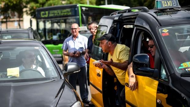 [NATL] Taxi Drivers Rip Uber
