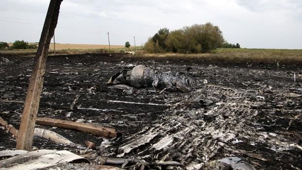 Local Russians, Ukrainians React to Plane Crash