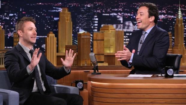 [NATL] Fallon: Chris Hardwick Talks About Bribing Tom Hanks