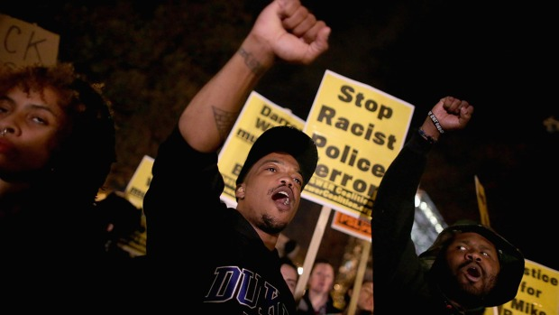 [NATL]Protests Erupt After Ferguson Grand Jury Decision