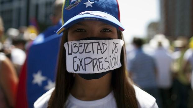 Images of Unrest in Venezuela