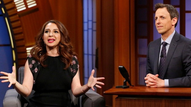 "[NATL] Maya Rudolph's Talks About One of Her ""SNL"" Characters on ""Late Night"""