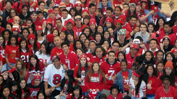 San Francisco 49ers Fan Photos