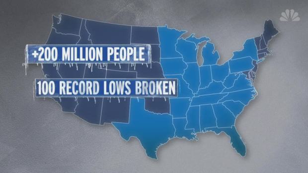 [NATL] 8 Deaths Blamed on Cold Weather Snap
