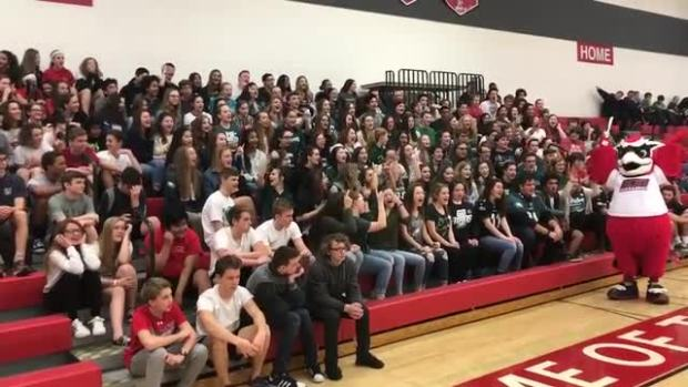 OCHS Students Celebrate the Philadelphia Eagles
