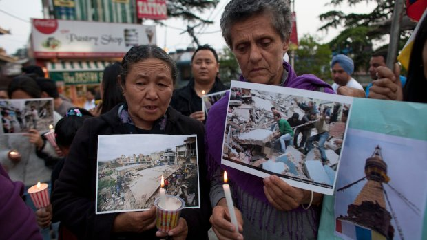 Deadly Earthquake Rocks Nepal
