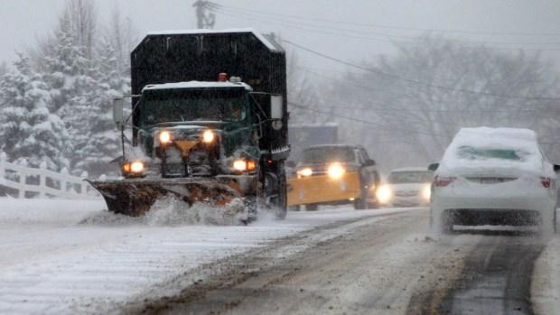 [PHI] Road Crews Prep for Wednesday's Snow