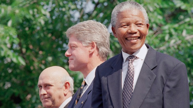Mandela's Philly Visits
