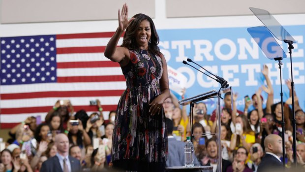 Michelle Obama Comes to La Salle