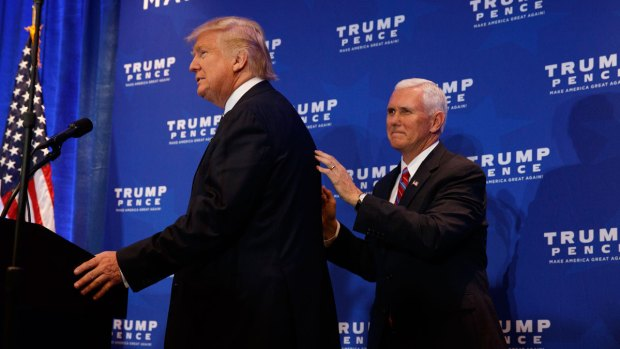 [PHI] Trump and Pence Campaign in King of Prussia