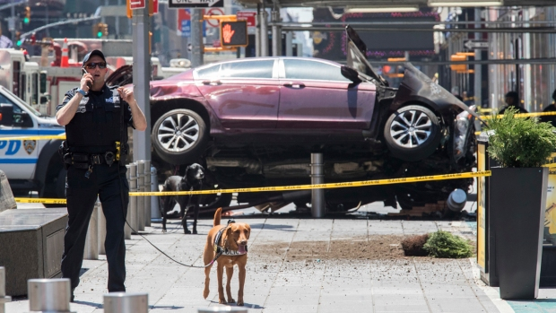 In Pictures: Car Slams into Crowd in Times Square
