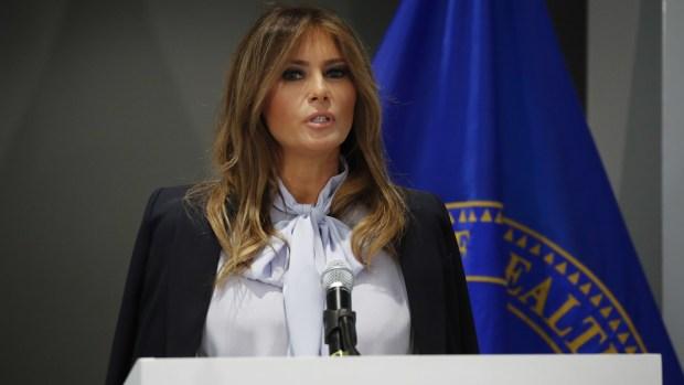 [NATL] Melania Trump Addresses Cyberbullying Conference