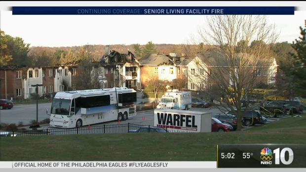 A Look Into Barclay Senior Community Fire