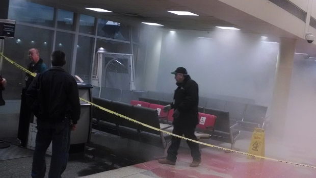 Philly Int'l Baggage Truck Crash