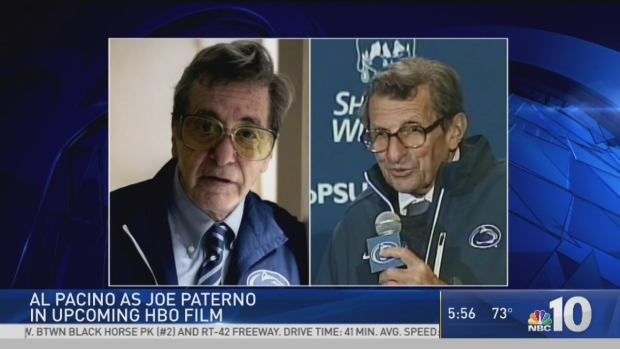 [PHI] Al Pacino as Joe Paterno in Upcoming Movie