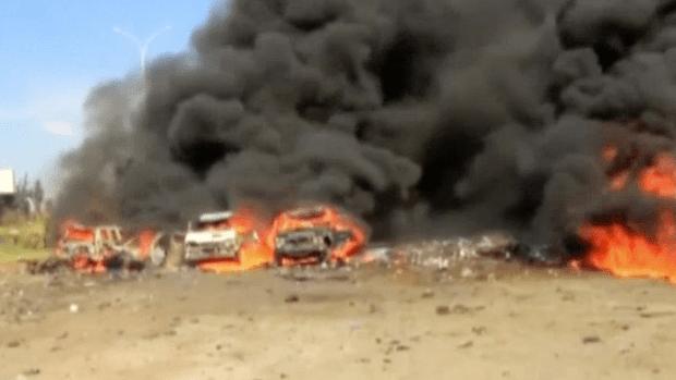 [NATL] RAW: Syria Bus Blast Kills at Least 100