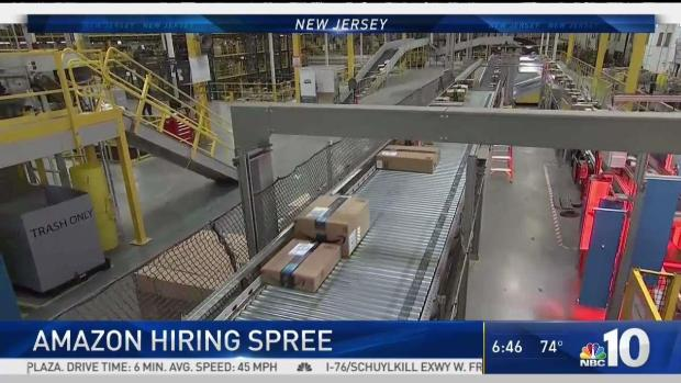 aed630326 ... Amazon Hiring Spree in New Jersey ...