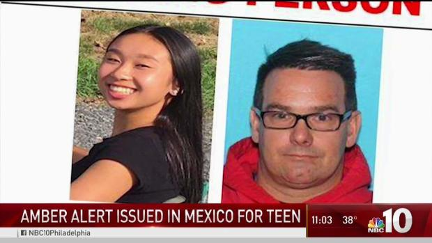 [PHI] Amber Alert Issued in Mexico for Missing Pa Teen