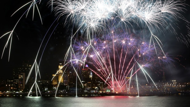 Army Concert and Fireworks at Penn's Landing