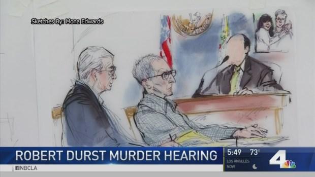 [LA] Awaiting Secret Witness in Durst Trial