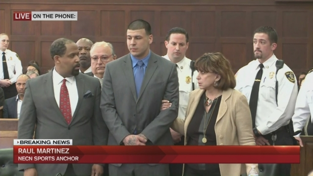 [NATL-NECN] Aaron Hernandez's Path From NFL to Prison