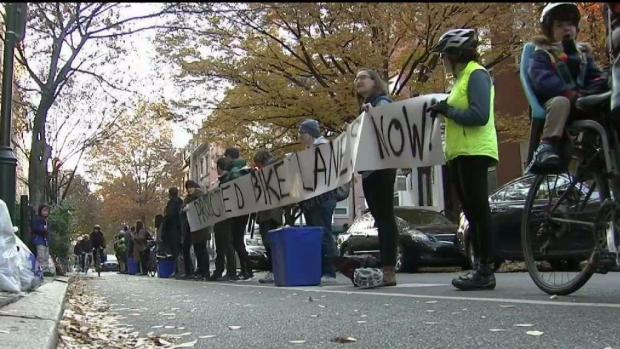 After Woman's Death, Bikers Call for Better Bike Lanes