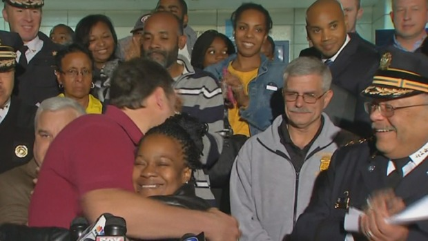 Carlesha's Mom Thanks Detective for Keeping His Promise