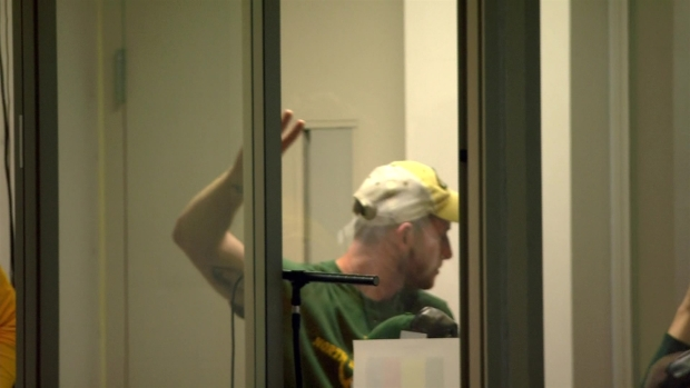 Carson Wentz in Coaches' Booth