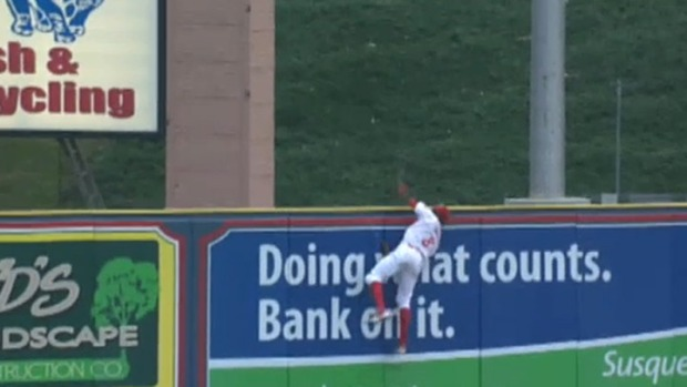 Phils Prospect Makes Catch of the Year