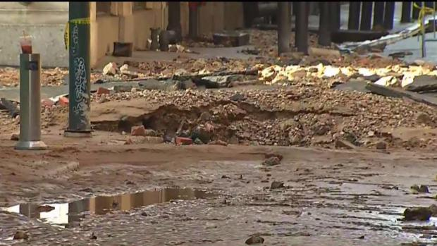 Center City Flooding Stopped as Water Main Is Shut Off