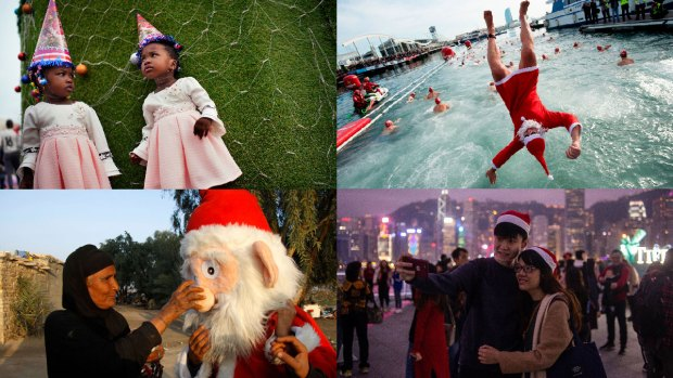 [NATL] In Photos: Christmas 2018 Around the World