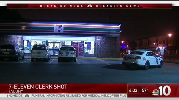 Convenience Store Clerk Shot During Heist