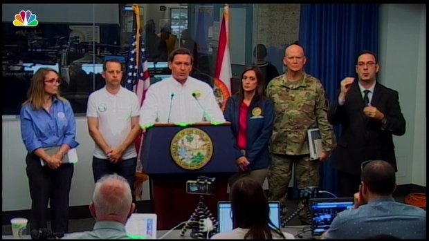 [NATL] Florida Governor: 'We Are Preparing for a Significant Event'