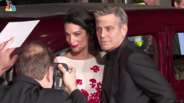 [NATL] Clooneys Welcome Twins