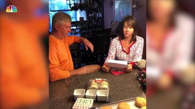 MLB Pitcher Gives Parents Christmas Gift of a Lifetime