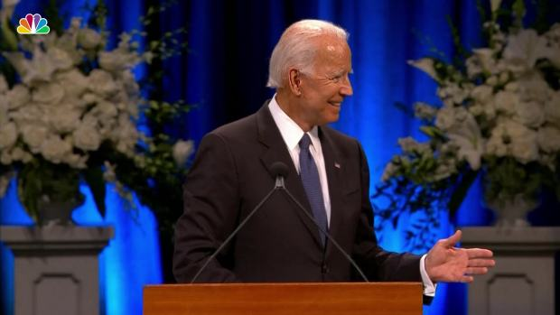 [NATL] Joe Biden: McCain's Code is 'Ageless'