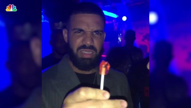 Drake Wowed by Lollipop Magic Trick