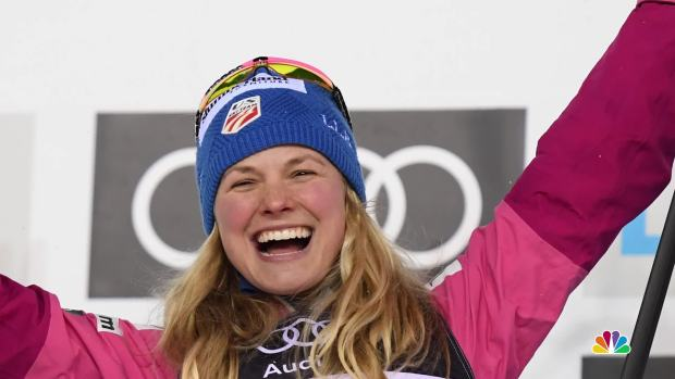 [NATL] Jessie Diggins: 'We Are Not These Little Fairies Sliding Around in the Woods'