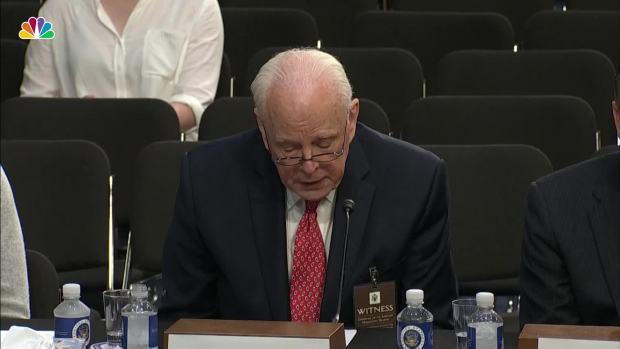 [NATL] Former White House Counsel Dean Warns Against Confirming Kavanaugh