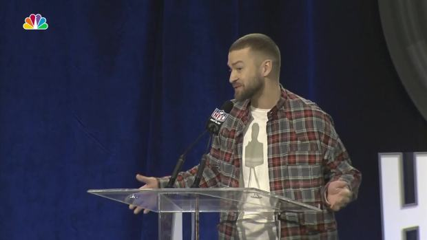 Timberlake Talks Whether N'Sync Will Be at the Super Bowl