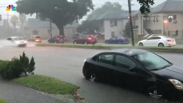 [NATL] Storms Bring Flooding to New Orleans