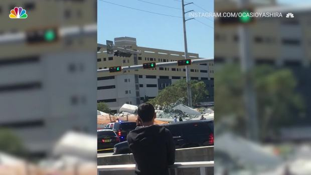 [NATL] Miami Bridge Collapse as Seen on Social Media