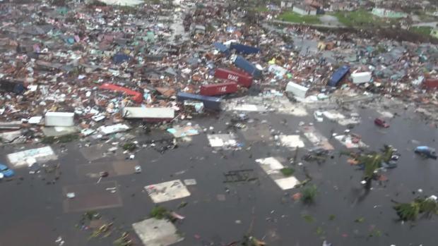 [NATL] Widespread Devastation Seen From Aerials Above Abaco, Bahamas