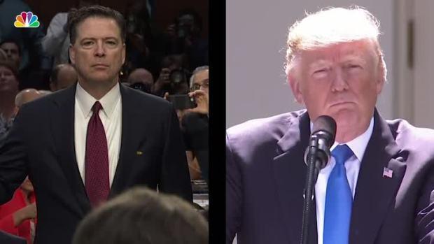[NATL] Comey vs. Trump