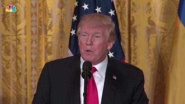 [NATL] Key Moments From Trump's Press Conference