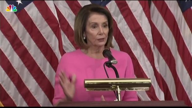 [NATL] Pelosi Says She Is 'Best Person' for House Speaker