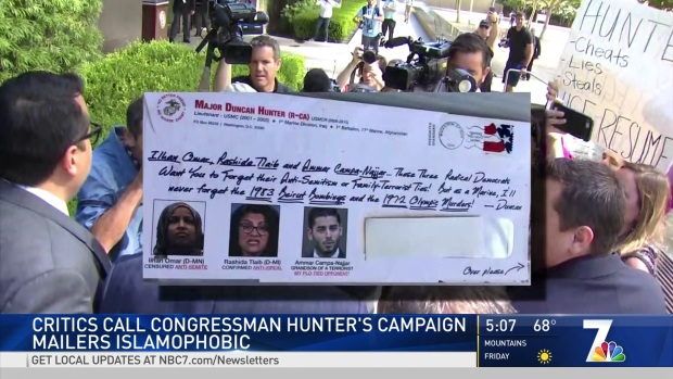 Duncan Hunter Campaign Mailer Called Islamophobic