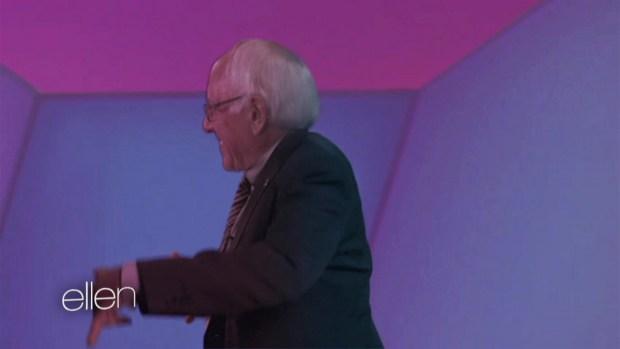 [NY] Ellen's 'Bernie Sanders' Video Spoof