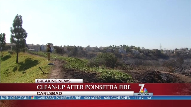 [DGO] Clean-Up in Aftermath of Poinsettia Fire